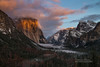 Winter's First Storm (Darvin Atkeson) Tags: sunset snow first storm 2016 winter california yosemite national park halfdome elcapitan bridalveil forest sierra nevada mountains clouds rest valley canyon glacier darv darvin lynneal atkeson yosemitelandscapescom