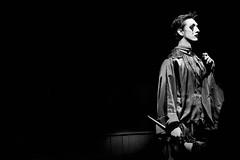 The Jester (Clint Everett) Tags: blackandwhite monochrome theatre jester christmas sony sourceclinteverett