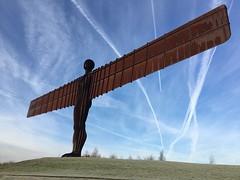 Guess (David J Walton) Tags: sculpture anthonygormley newcastle gateshead gatesheadangel angelofthenorth