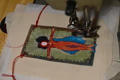 (Danny W. Mansmith) Tags: workinprogress sewingpaper smallart dannymansmith