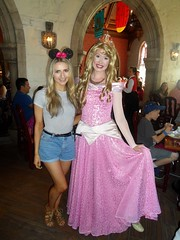 Florida 2016 (Elysia in Wonderland) Tags: disney world orlando florida elysia holiday 2016 akershus epcot royal banquet hall storybook princess breakfast sleeping beauty aurora becca