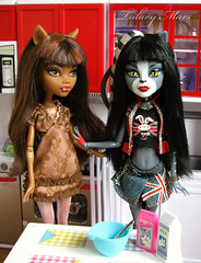 (Talary Mars) Tags: monster high murka purrsephone clawdeen zhuchka