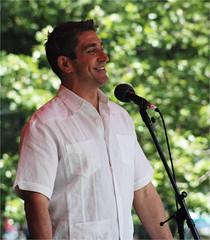 Richard Blanco (SMP 2013) _687 (Sam T (samm4mrox)) Tags: people man guy nikon d70 nikond70 newengland glbt pride celebration lgbt poet portlandmaine gaypride sunnyday 2013 portlandpride southernmainepride june2014