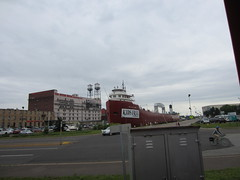 The William A Irvin (the queen of subtle) Tags: summer duluth williamairvin 2013