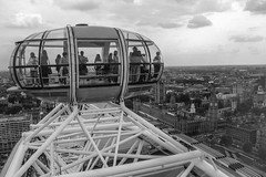 Top London Eye BW (Kobi W.) Tags: ocean park street new old city uk trip travel family flowers autumn trees winter light sunset red sea summer vacation portrait england sky people urban bw food sun white lake holiday snow chicago black paris france color berlin green london art fall love beach nature water car birds animals bike yellow rock architecture kids night clouds canon river garden landscape fun photography scotland photo spring europe day photos live blackandwhiteblue
