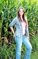 069dth (ihrulez) Tags: portrait girl corn pretty farm plaid