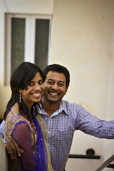 Us - Part Trois (mynameisharsha) Tags: girls portrait india guy girl beautiful beauty happy 50mm prime nikon couple pretty married gorgeous bangalore husband wed babe chick gal stunning wife 18 50mmf18af d7100 mynameisharsha