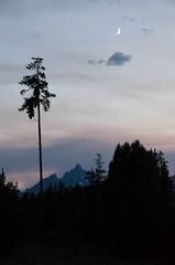 Teton moonrise (MRKem) Tags: mountains rockies grand wyoming teton