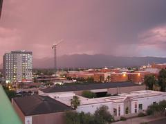 Tucson (Dan_DC) Tags: arizona storm mountains campus tucson dusk monsoon editorial feature universityofarizona fon rainstorms latesummerafternoon distantstorms