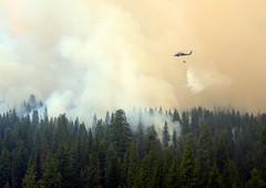 California Wildfires (Official U.S. Air Force) Tags: ca unitedstates c yosemite ang usaf unitedstatesairforce rimfire firesuppression waterbucket 129threscuewing hh60gpavehawk californiaairnationalgaurd stateemergencies