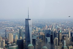 Freedom Tower (LuisJouJR) Tags: newyork manhattan aerialview aviones hudsonriverflight