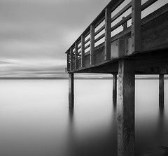 Freeze (sasiflicks) Tags: california longexposure bw white black landscape long exposure bl