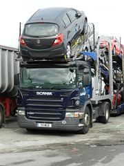 Y4MCD Autologic Scania P420 Car Transporter (graham19492000) Tags: cartransporter eddiestobart autologic scaniap420 y4mcd