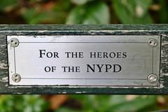 Central Park, 09.22.13 (gigi_nyc) Tags: nyc newyorkcity autumn centralpark benchplaque