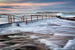 morning wash (Luke Tscharke) Tags: ocean morning sea seascape beach wet water pool geotagged flow rocks tide wash tidalpool northernbeaches surnise geo:lat=3376736516731474 geo:lon=1513015651702881
