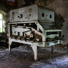 abandoned mill (milos.moeller) Tags: mill abandoned abandonedplace veb lostplace weizenmühle mühlenwerkeag dölzschermühlenwerkeag