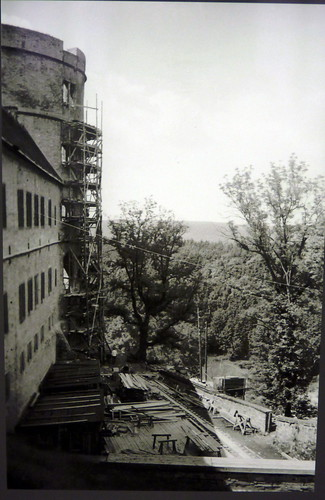 wewelsburg castle - KZ inmates working on th enorth tower