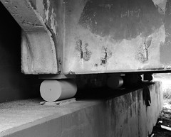 Roller Bearing, Jensen Drive (Hill Street) Bridge over Buffalo Bayou, Houston, Texas 1310261117 (Patrick Feller) Tags: jensen drive hill street bridge buffalo bayou houston texas harris county national register historic places kirk farris pontist united states north america