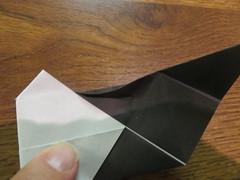 Vampire Bat (31) (origamiguy1971) Tags: origami vampire bat step fold esseltine origamiguy origamiguy1971 stepfolds