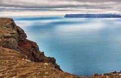 View from the Westfjords (Coldpix) Tags: panorama seascape iceland scenery explore 49 ísland vestfirðir westfjords bolafjall ísafjarðardjúp majesticscenery majesticseascape
