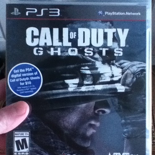 Here Be Porpoises Call Of Duty Ghosts: Call Of Duty Ghosts Ps3 Killrxr #ScottTracey #love