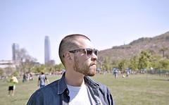 (Ariel Rodrguez-Latapiatt) Tags: bear park parque gay boy male guy beard model nikon selfportraits blonde rayban vitacura bicentenario costaneracenter