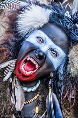 Kali (Cameron Knowlton) Tags: red portrait woman color colour art colors up closeup portraits scary nikon colours close body zombie walk air makeup brush creepy spooky zombies bodyart airbrush zulu d600 zombiewalk urbanheart