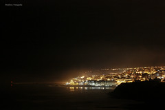 Ericeira luminosa (RitaDinis - Fotografia) Tags: praia lights hotel mar noite nights ericeira noites vilagal