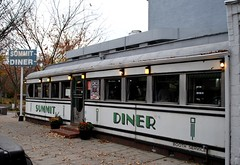 Summit Diner, Summit NJ (63vwdriver) Tags: new art car vintage jerry nj diner company jersey summit dining deco porcelain omahony