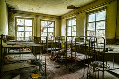 Kopachi Kindergarten (Diablo Azul) Tags: city urban abandoned toxic modern town ruins decay ghost radiation nuclear ukraine soviet radioactive crumble ukrainian meltdown derelict zone catastrophe chernobyl exclusion pripyat