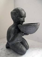 il baciapile_tecnica ceramica e grafite