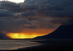 Turnagain Arm sunset- (kylestrauss) Tags: sunset alaska arm services ecological strauss turnagain kylestrauss