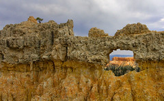 Bryce Canyon Window (Pam Thompson Arbogast) Tags: windows southwest window bryce brycecanyon hikes fairylandlooptrail ntlparks