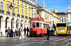 Lisbon (mgkm photography) Tags: street travel cidade urban tourism portugal train photography photo nikon europa europe tour emotion lisboa lisbon transport gimp sigma praa rua turismo elctrico lightzone ptbw ilustrarportugal d7000 nikonflickraward streettogs