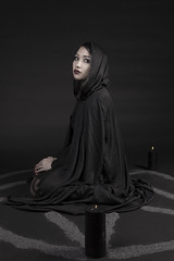 (Marosh Photography) Tags: black fashion dark photography skull candles candle witch witchcraft pagan darkphotography blackcandle
