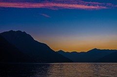 Evening Star (drugodragodiego) Tags: sunset italy panorama lake nature water reflections landscape lago tramonto day pentax natura clear ripples brianeno acqua riflessi lombardia k5 lagodiseo laghi provinciadibrescia smcpda1224mmf40edalif pentaxiani pentaxart pentaxk5 pentaxflickraward pentaxk5iis k5iis pentaxda12244edalif vision:sunset=0913 vision:mountain=0825 vision:outdoor=099 vision:clouds=099 vision:car=0712 vision:sky=099 vision:ocean=0771