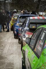 The Line-up (davidkoiter) Tags: ontario canada car canon eos rally racing line 7d subaru l series f4 mitsubishi motorsport crc bancroft tallpines f4l rallyofthetallpines 2013 canadianrallychampionship