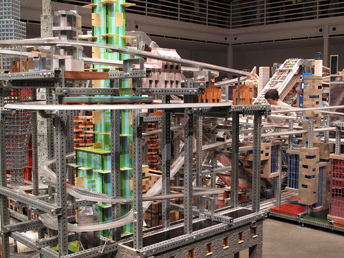 "Christopher Burden ""Metropolis II"""