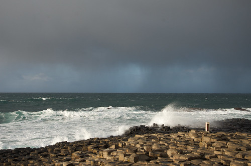 Giant Causeway Waves ©  Still ePsiLoN