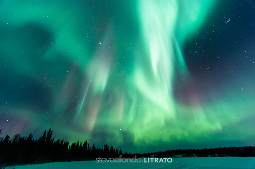 Aurora Storm - Dec. 7, 2013 - Yellowknife, NWT