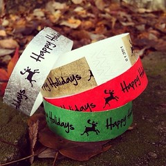 "There is still time to get customized #wristbands for your #holiday #officeparty. • <a style=""font-size:0.8em;"" href=""http://www.flickr.com/photos/8453258@N02/11382608594/"" target=""_blank"">View on Flickr</a>"