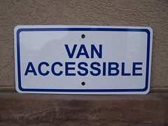 Van Accessible Parking Sign | Signarama Lexington, KY