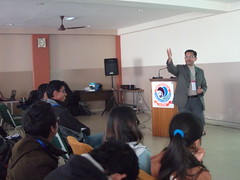 DSCF9393 (Kathmandu Living Labs) Tags: usaid youth observation living earth forum nasa labs change kathmandu climate servir kll icimod