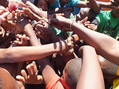 holiday game (Nemato Change a Life) Tags: africa holiday playing game kids youth children fun play south township empowerment nemato