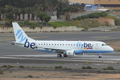 G-FBJK Embraer 170 Flybe (GSairpics) Tags: travel las tourism islands airport spain aircraft aviation transport aeroplane airline delivery canary canaryislands airliner laspalmas embraer170 palmas lpa emb flybe e170 gclp gfbjk