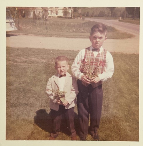 Brian Copeland and William Dale Copeland, sons of William Delvie Copeland, early 1960s.