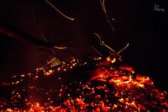 Devil's Armour (RJOYPhotography) Tags: canon fire flames fork flame bonfire ember coal pitchfork sparks fires spark embers bonfires 60d