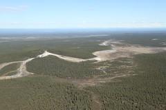 Mt. Shrub Mud Volcano with Mud Flows (Wrangell-St. Elias National Park) Tags: alaska volcano nationalpark nps geology shrub wrangell mudvolcano wrangellstelias wrangellsteliasnationalpark klawsi