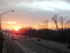 Sunset over Route 15, Camp Hill, PA (dfirecop) Tags: sunset sun pennsylvania pa camphill route15 dfirecop