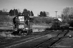 OMLX 4327 Longmont Colorado (Colorado & Southern) Tags: railroad train colorado railway trains railfan railroads greatwesternrailway railfanning greatwesternsugarcompany emdsd9 coloradorailroads coloradotrains